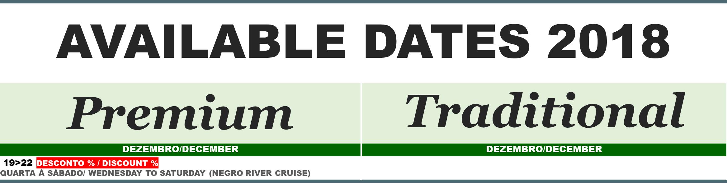 DATAS DISPONÍVEIS SITE 2018 28.11.18